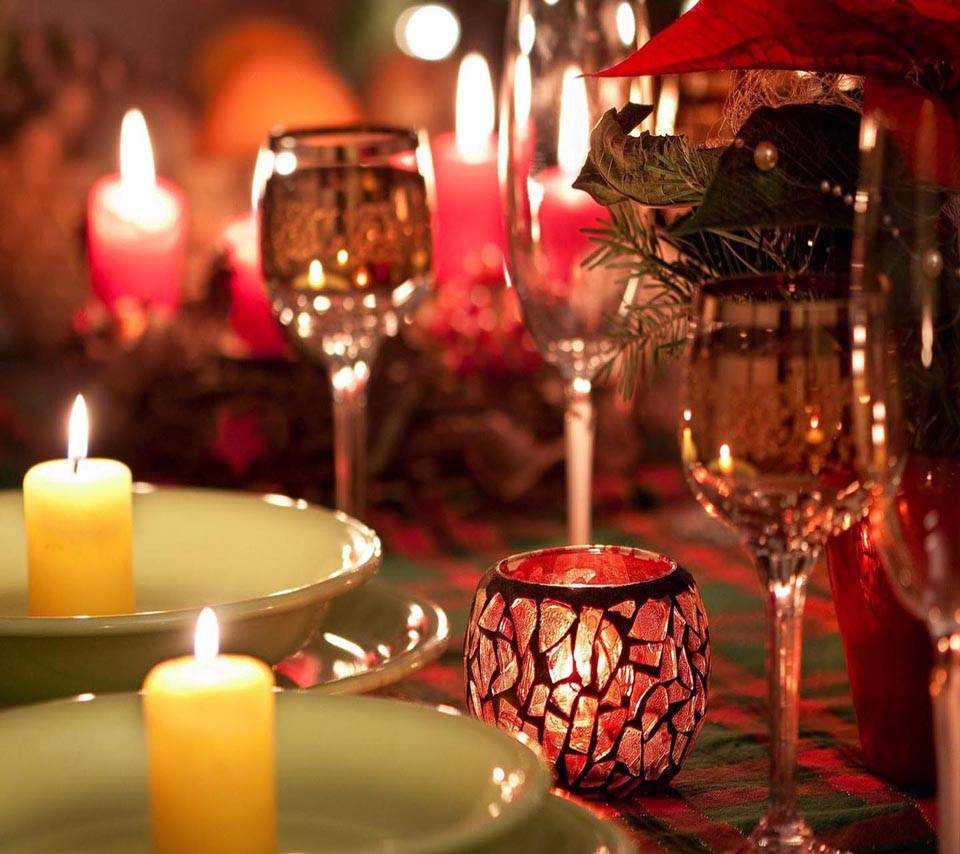 A Candle Light Dinner