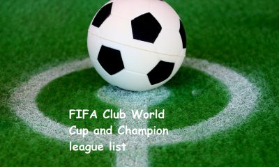FIFA Club World Cup and Champion league list