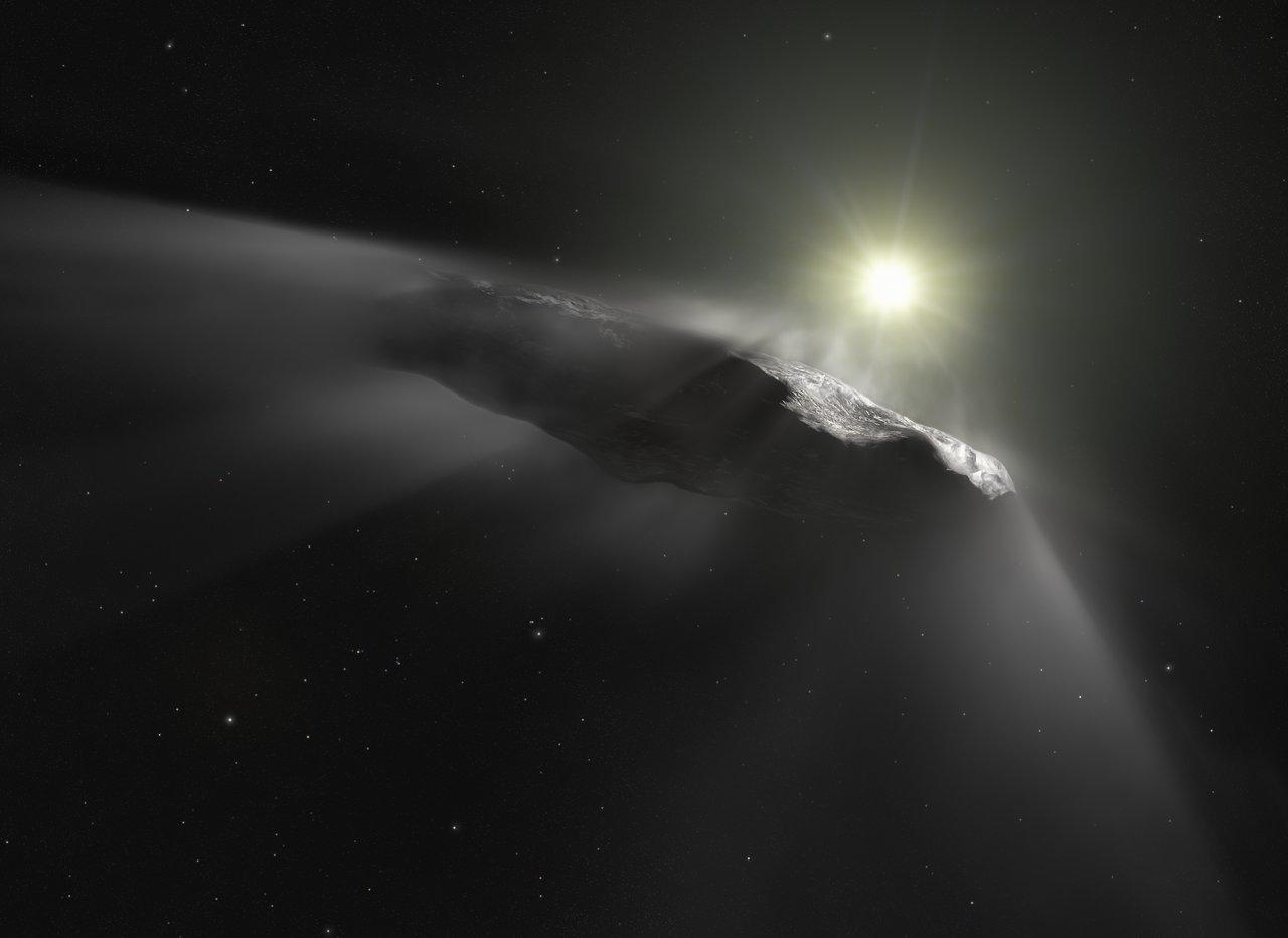 Interstellar visitor