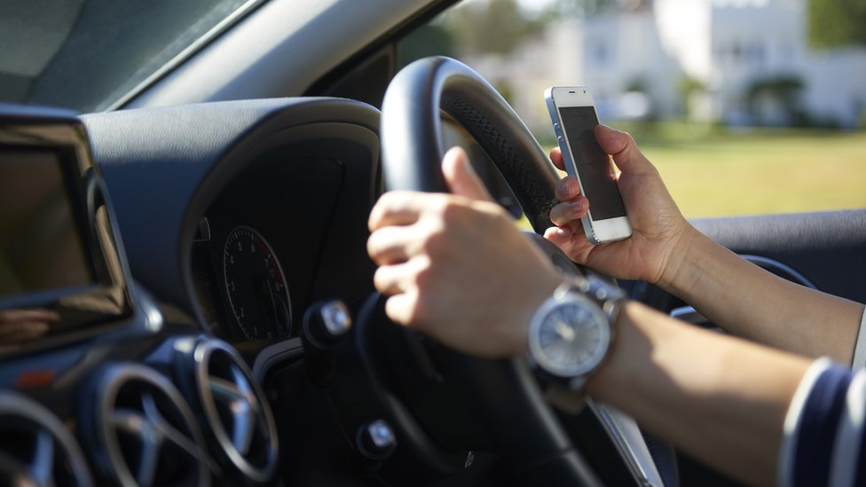 use of mobile phones while driving