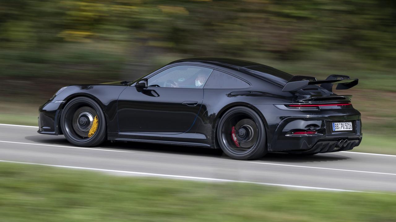 new 992-gen Porsche 911 GT3