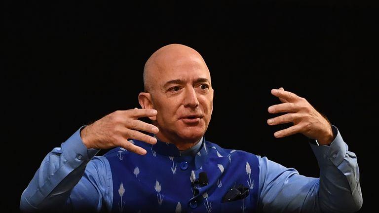 Jeff Bezos says