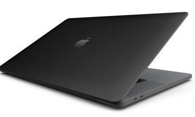 Matte Black Finish for MacBooks